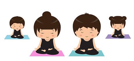 Familienyoga,Yoga für alle,Familie,Zei gemeinsam verbringen, Spiel un Spaß