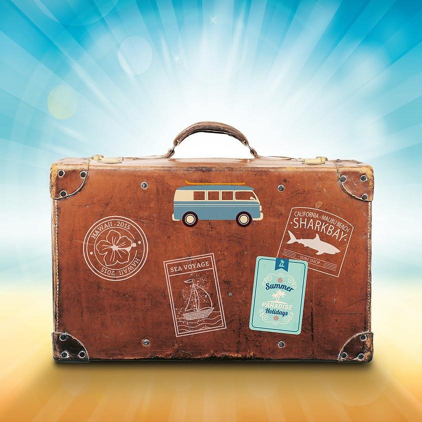 Familienyoga: Wir fliegen in den Urlaub!