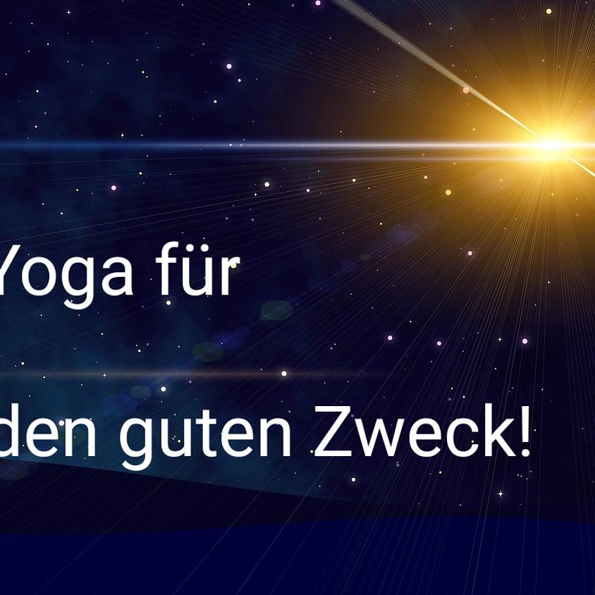 Yoga für den guten Zweck!