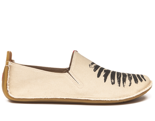Ababa Womens Canvas Birdie Natural