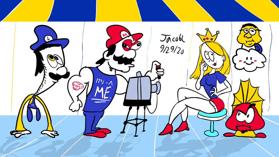 Mario Doodles 9/29/20