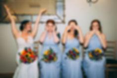 bride an bridesmaid,wedding photography