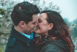 Engagement shoot, Leeds castle