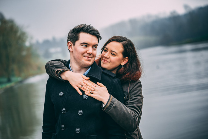 Engagement shoot, Leeds castle
