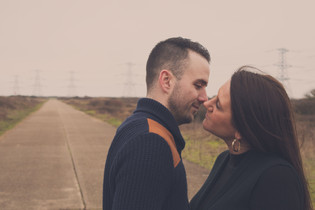 Engagement shoot, Lydd, Herons Park