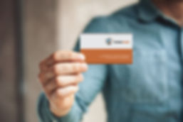Cartão de visitas - Transporcargas