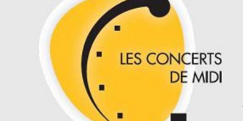 Recital, Les concerts de midi, Paris