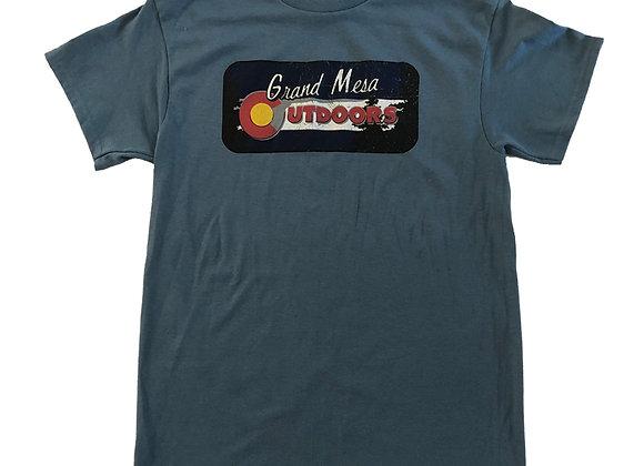 Grand Mesa  Outdoors Logo Tee