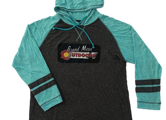 Grand Mesa Outdoor logo raglan sleeve
