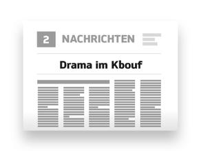 Drama im Kbouf - Die Geschichte beginnt