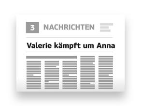 Valerie kämpft um Anna