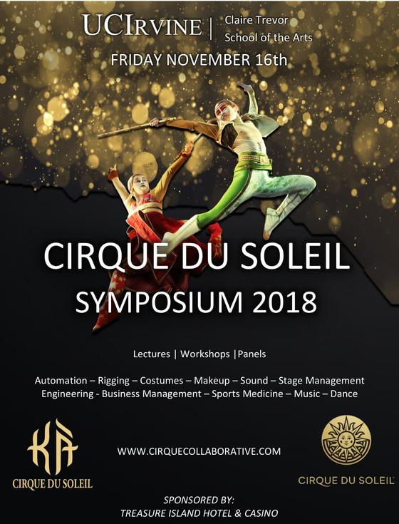 Announcing the Cirque du Soleil Symposium!