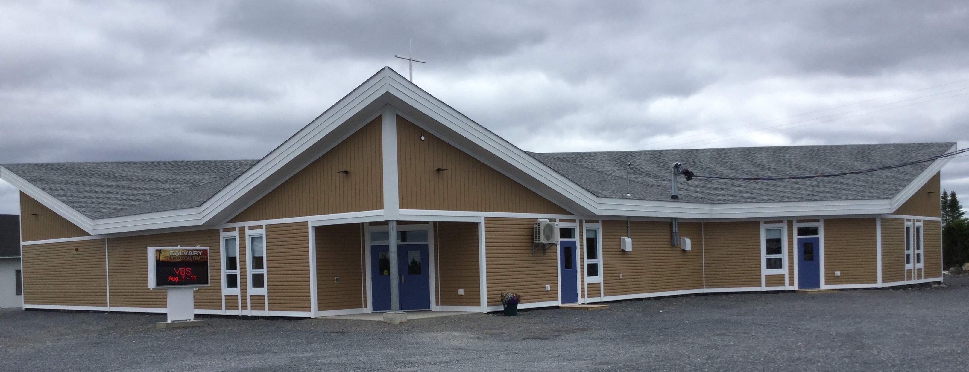 Calvary Pentecostal Temple, Roddick