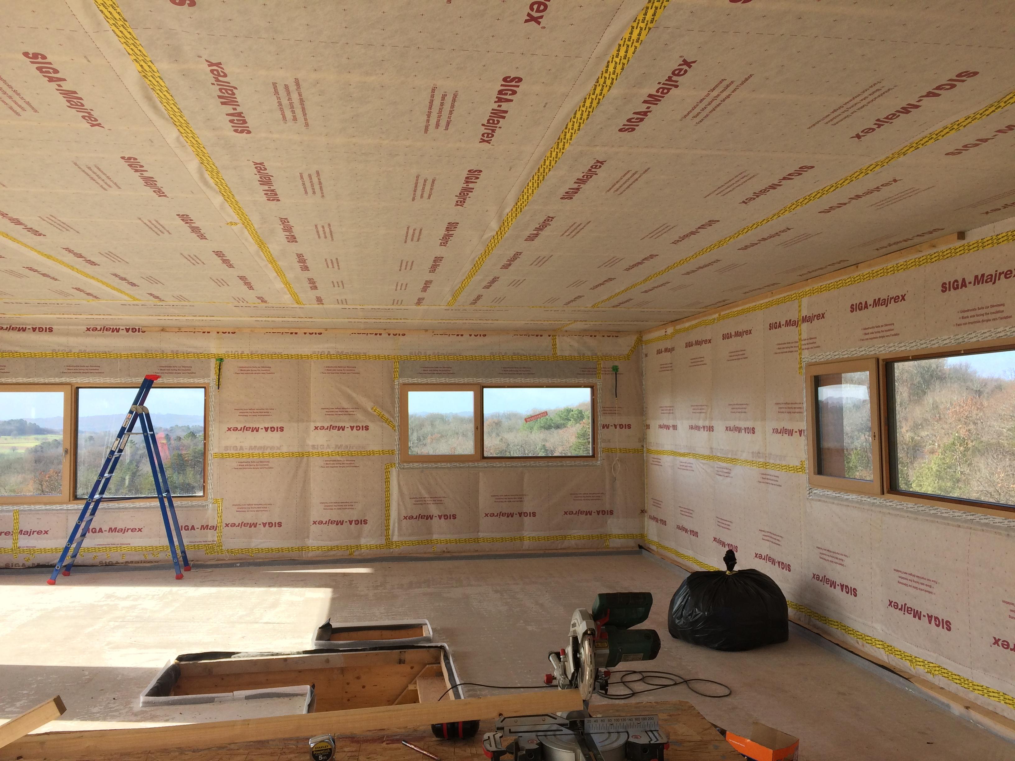 Etanchéité Maison passive 300m²