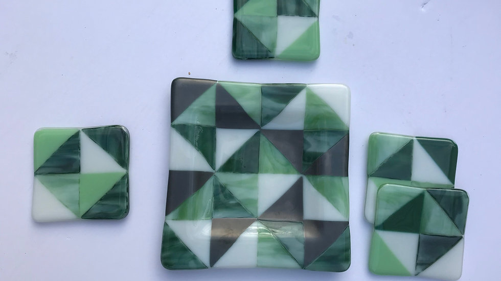 Evergreen Triangles: Set of 5