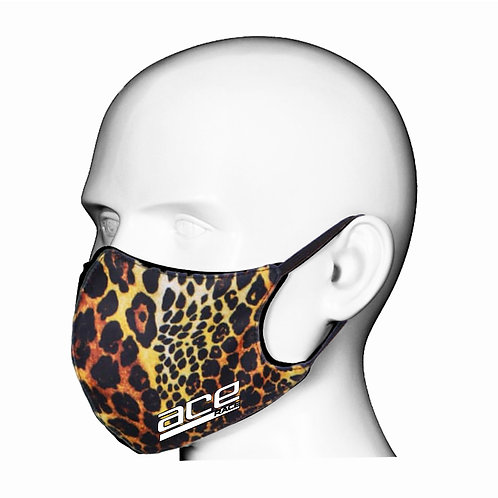 Leopard Print Adult Face Mask/Covering