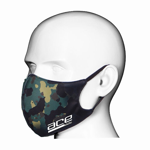Camo Print Adult Face Mask/Covering