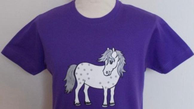 Purple twinkle T-shirt