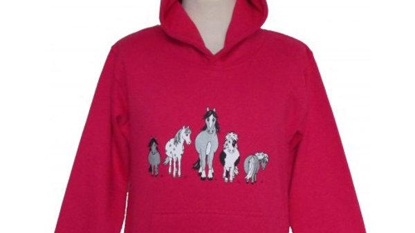Pink the herd hoodie