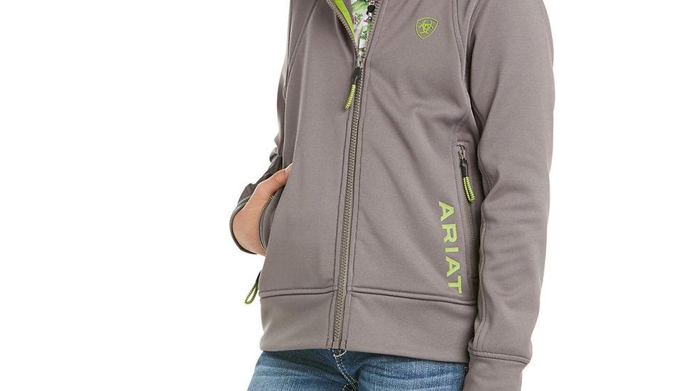 Ariat Keats hoodie plum grey
