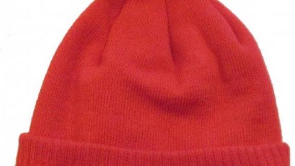 Red tractor Pom Pom hat
