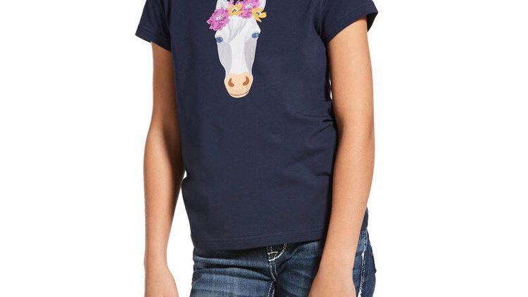 ARIAT flower crown tshirt