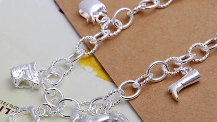 Pony charm bracelet (costume jewellery)