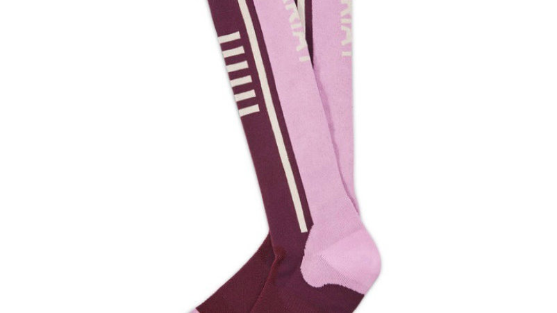 Ariat long socks pink