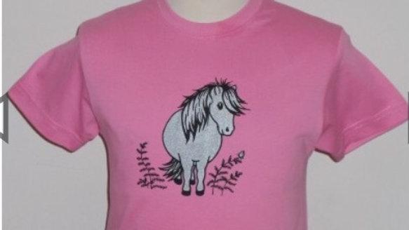 Bracken pony tshirt