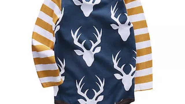 navy stag head