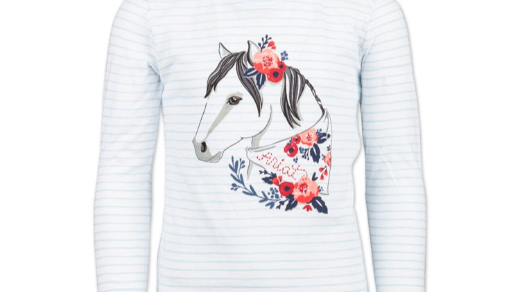 ARIAT boho pony T-shirt
