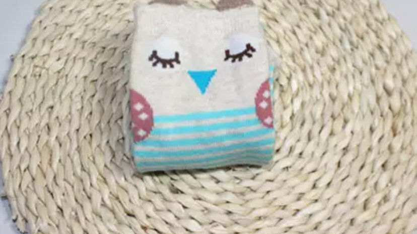 Owl long socks