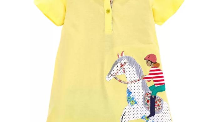 Jumping pony yellow