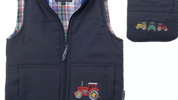 Padded tractor Gilet
