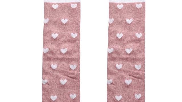 heart mouse long socks
