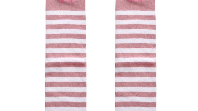 stripy rabbit long socks
