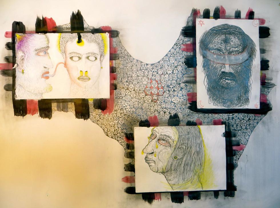 עדת מאמינים (בטון אנושי), 2007.jpg