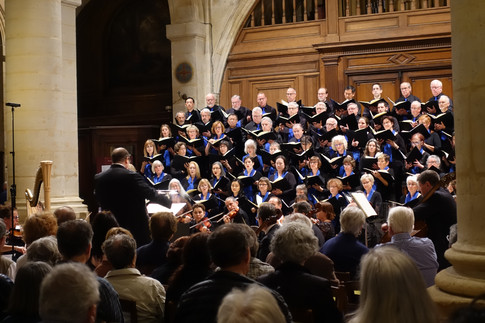 Choir at St. Etienne Performance