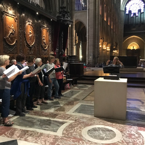 Notre-Dame Rehearsal