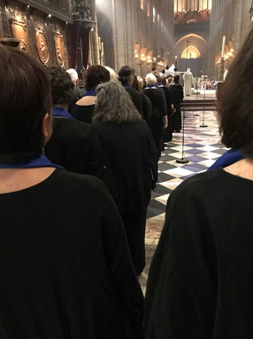 Processing into the Chancel