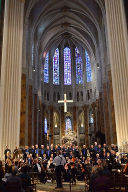 Rehearsal at Chartres Cathedral
