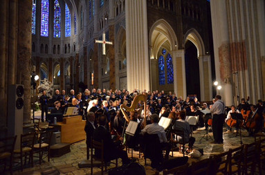 Chartres Cathedral Rehearsal