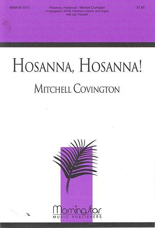 Hosanna, Hosanna Cover.jpg