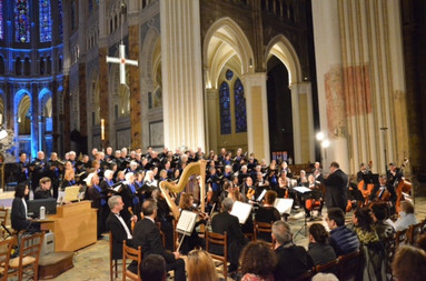 Choir and Orchestra at Chartres