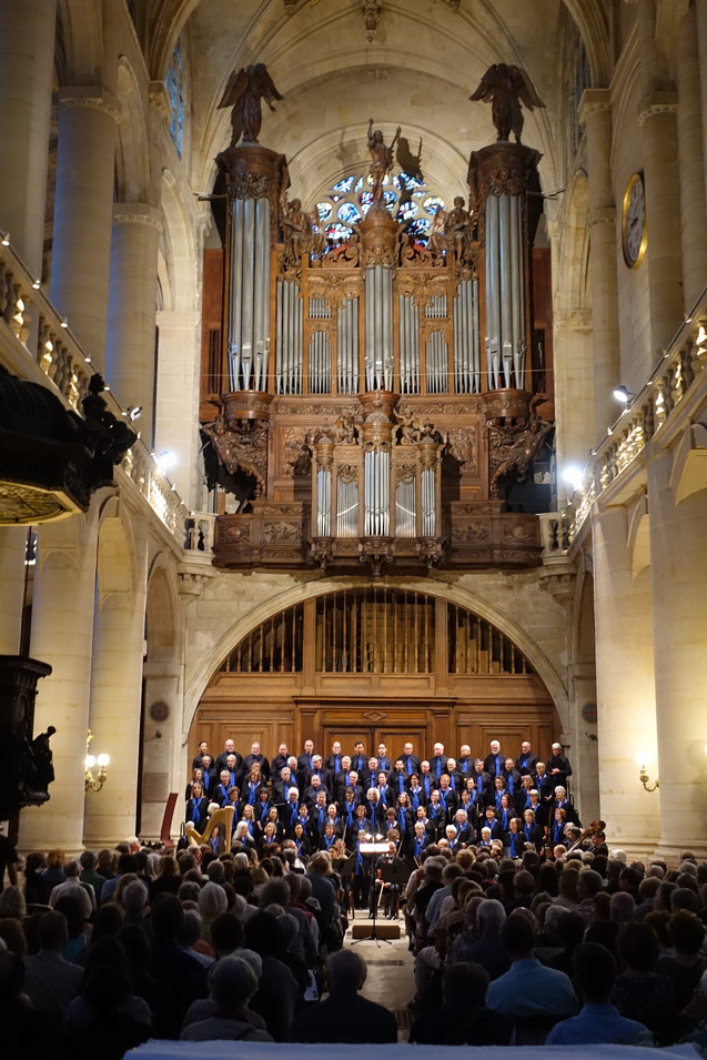 Choir with Durufle's Organ