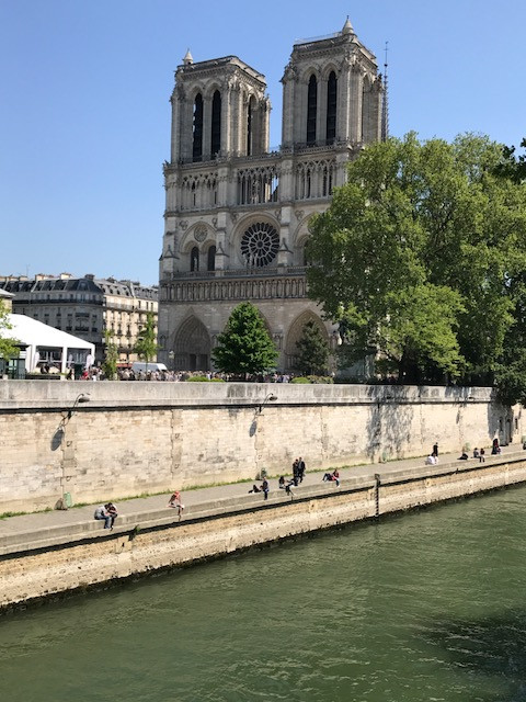 We Arrive at Notre-Dame!