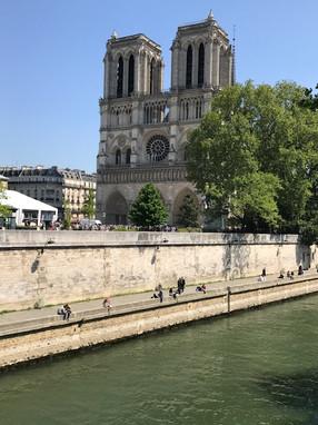 We Arrive at Notre-Dame!