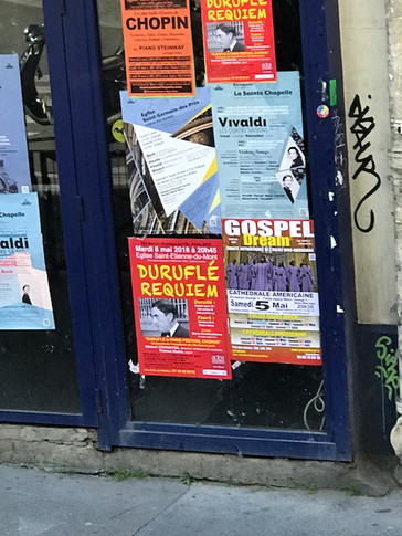 Our Poster Spotted in Paris Neighborhood