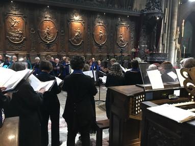View from Behind the Choir Organ