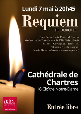 Chartres Poster